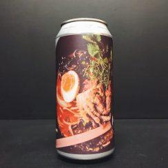 Northern Monk Finback Patrons Project 10.06 Cocktail Beer Ramen + Bun // Culinary Concepts Yuzu IPA Leeds collab vegan