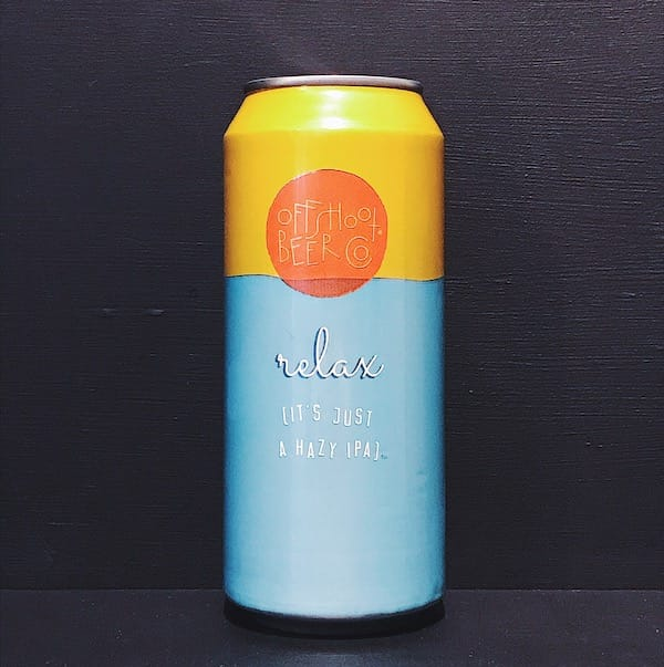 Offshoot Relax (it's just a hazy IPA) USA vegan