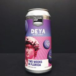 Pressure Drop Deya Two Weeks In Florida Cryo DDH DIPA London collaboration vegan