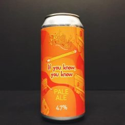 Totally Brewed If You Know, You Know Pale Ale Nottingham vegan