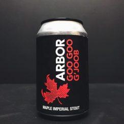 Arbor Goo Goo G'Joob Maple Imperial Stout Bristol vegan