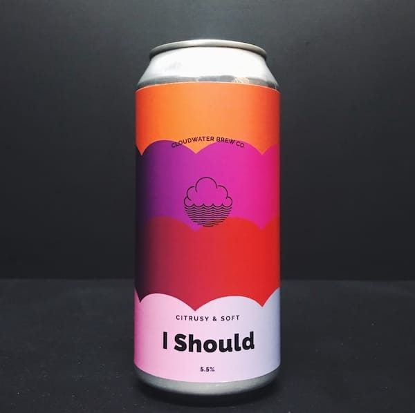 Cloudwater I Should DDH Pale Manchester vegan