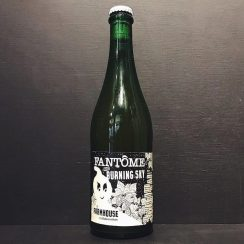 Fantôme avec Burning Sky Farmhouse Collaboration vegan Belgium