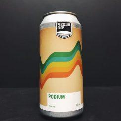 Pressure Drop Podium Pale Ale London vegan