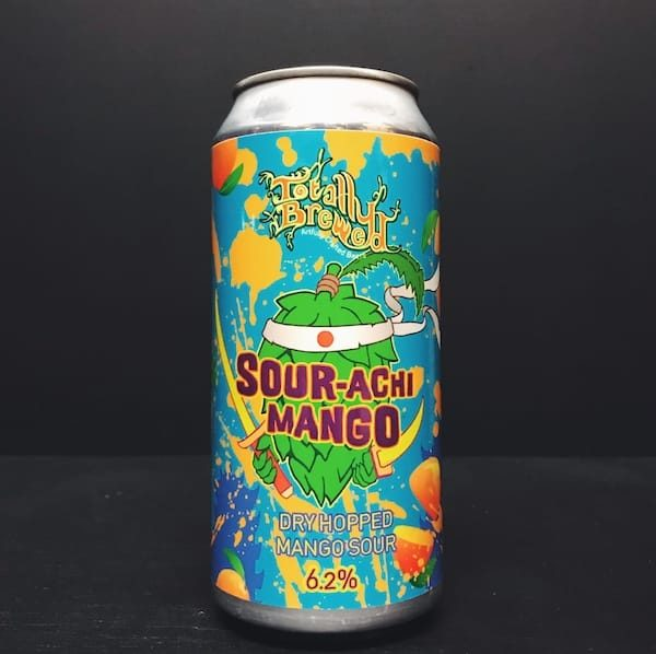 Totally Brewed Sour-achi Mango Dry Hopped Mango Sour Nottingham vegan