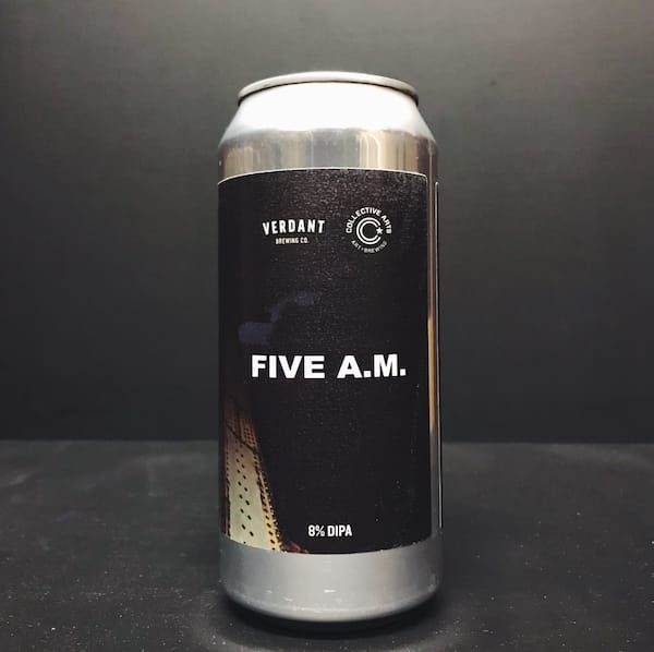 Verdant Collective Arts Five AM DIPA Cornwall vegan collaboration