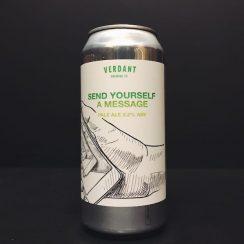 Verdant Send Yourself A Message Pale Ale Cornwall vegan