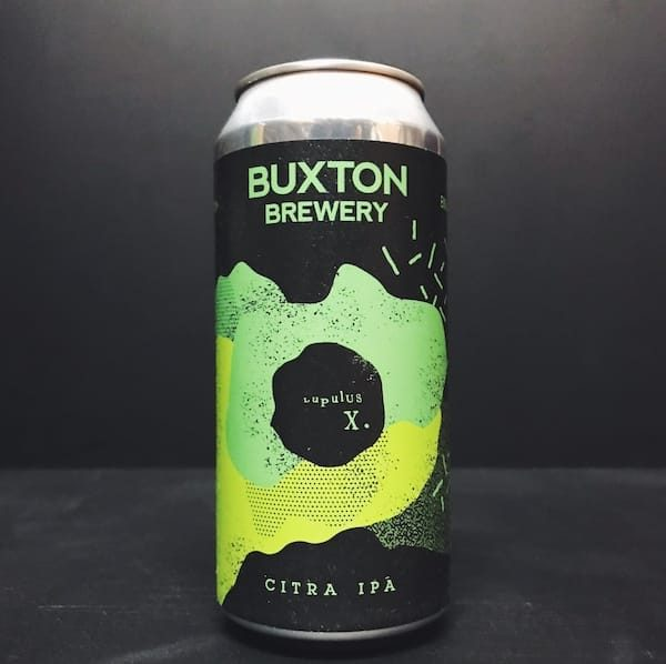 Buxton Lupulus X Citra IPA Derbyshire vegan