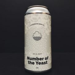 Cloudwater Number of the Yeast Quadruple IPA Manchester vegan