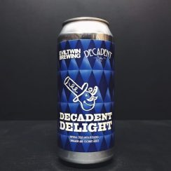 Decadent Ales Evil Twin Decadent Delight Imperial Stout with Pistachio Coconut & Cinnamon USA vegan
