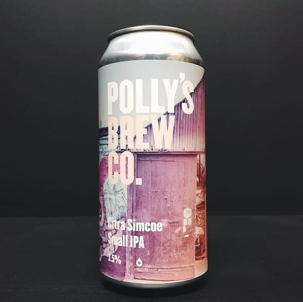 Pollys Brew Co Citra Simcoe Small IPA vegan Wales