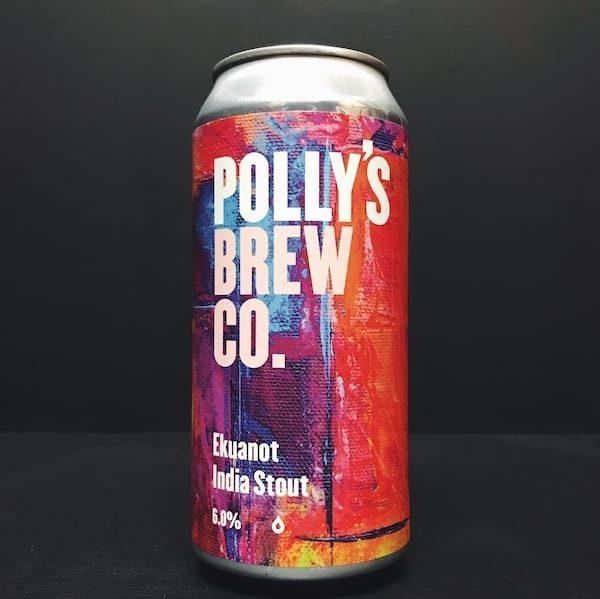 Pollys Brew Co Ekuanot India Stout Wales vegan