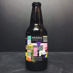 Prairie Paradise Imperial Stout brewed with Coconut and Vanilla. USA vegan