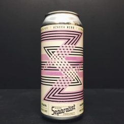 Separatist Beer Project Azacca Nerd IPA USA vegan