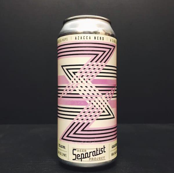 Separatist Beer Project Azacca Nerd IPA USA vegan
