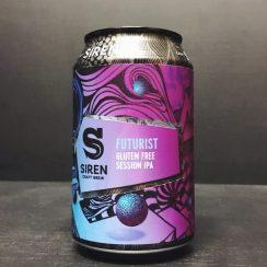 Siren Craft Brew Futurist Gluten Free Session IPA Berkshire vegan