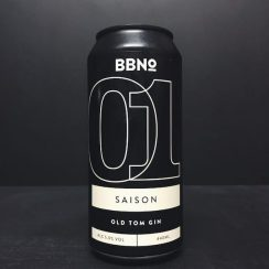 Brew By Numbers Jensens 01 Saison Old Tom Gin London vegan