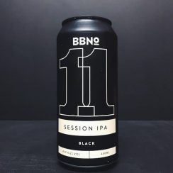Brew By Numbers 11 Session IPA Black London vegan