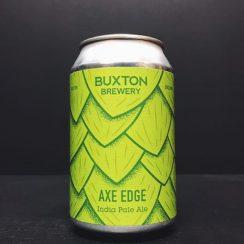 Buxton Axe Edge India Pale Ale Derbyshire vegan