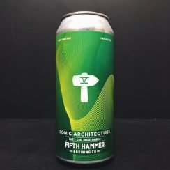 Fifth Hammer Sonic Architecture Wave 1 IPA NYC USA vegan