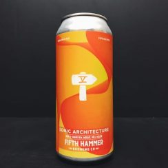 Fifth Hammer Sonic Architecture Wave 2 IPA NYC USA vegan