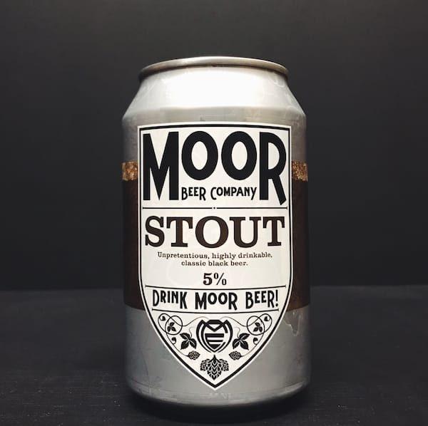 Moor Stout Bristol vegan