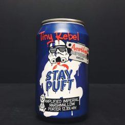 Tiny Rebel Amplified Imperial Stay Puft Marshmallow Porter Wales