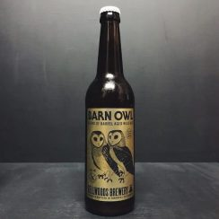 Bellwoods Barn Owl 16 Blended Barrel Aged Wild Ale. Canada vegan