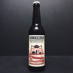 Bellwoods Farmageddon California Zinfandel Grapes 2019 Barrel Aged Wild Ale with California Zinfandel grapes. Canada vegan