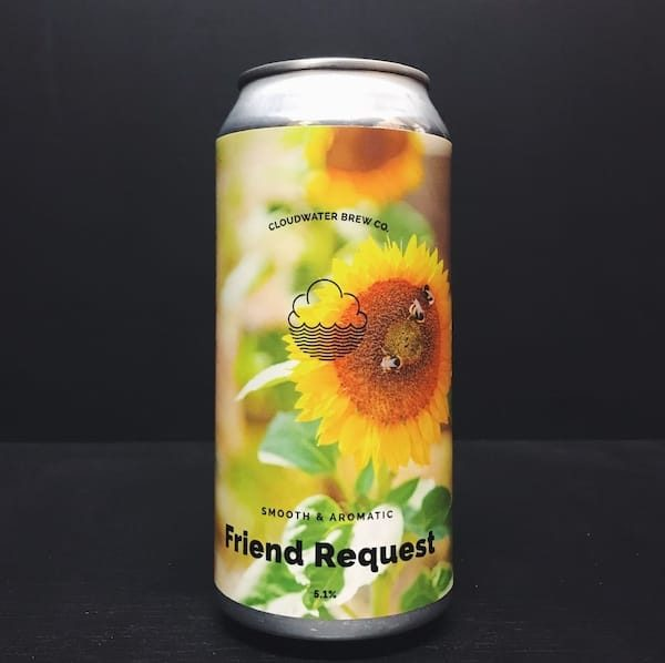 Cloudwater Friend Request Belgian Pale Ale Manchester vegan