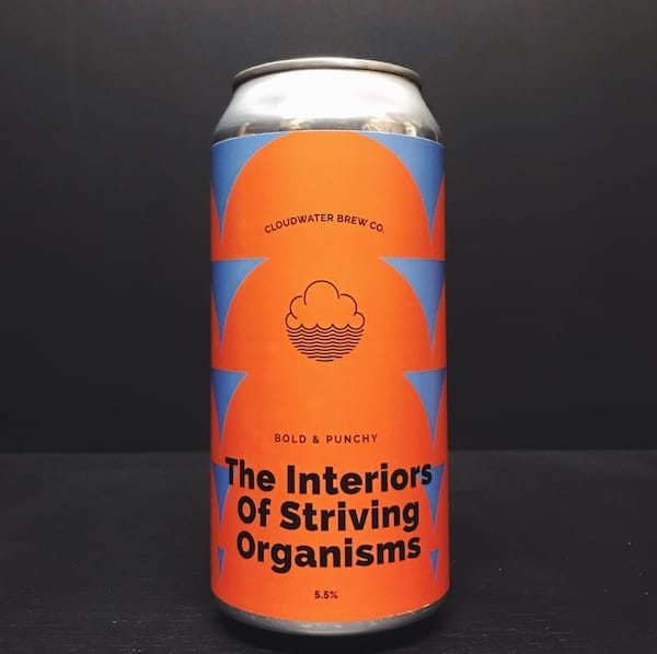 Cloudwater The Interiors Of Striving Organisms DDH Pale Ale Manchester vegan