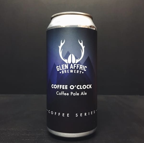 Glen Affric Coffee O Clock Pale Ale Birkenhead Vegan