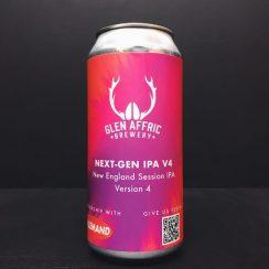 Glen Affric Next Gen IPA V4 New England Session IPA Birkenhead vegan