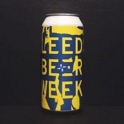 North Brewing Co Leeds Beer Week 2019 DDH IPA Leeds vegan