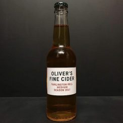 Olivers Yarlington Mill Medium Season 2017 Fine Cider Herefordshire vegan friendly