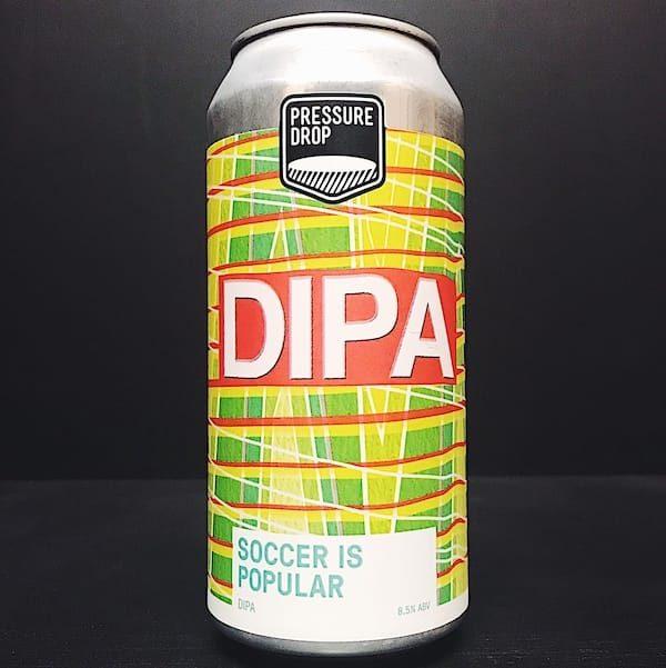 Pressure Drop Soccer Is Popular DIPA London vegan