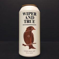 Wiper & True Small Beer Light Pale Ale Bristol vegan