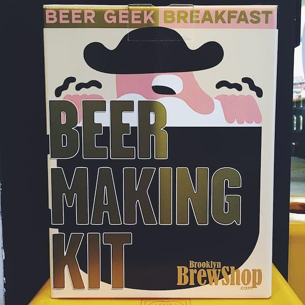 Brooklyn Brew Shop Mikkeller Beer Geek Breakfast Beer Making Kit Stout USA
