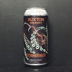 Buxton Stormbringer Export Stout Derbyshire vegan