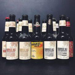 JW Lees Harvest Ale Vintage & BA Mixed Case Manchester vegan barley wine