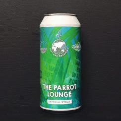 Lost & Grounded X Cloudwater X Burning Sky The Parrot Lounge Imperial Stout Bristol vegan collaboration
