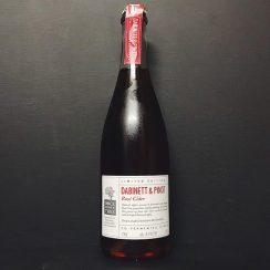 Once Upon A Tree Dabinett & Pinot Rose Cider Sparkling Medium Dry Fine Cider. Herefordshire vegan gluten free