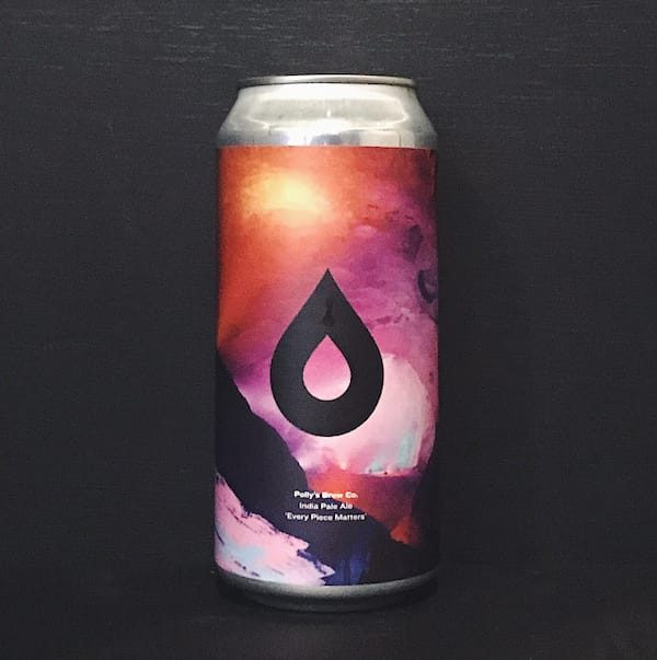 Pollys Brew Co Every Piece Matters IPA Wales vegan