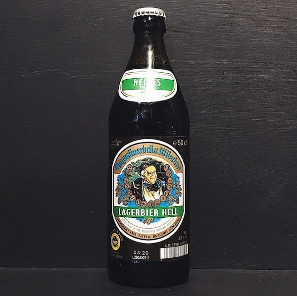 Augustiner Lagerbier Hell Helles Germany Vegan friendly
