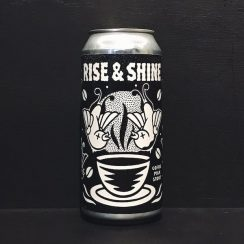 Black Iris Brewery Rise and Shine Coffee Milk Stout Nottingham