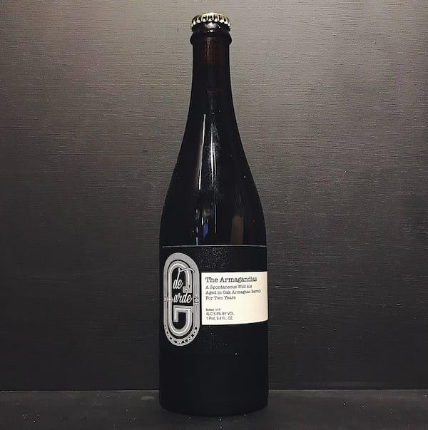 De Garde The Armagandias Wild Ale aged in Armagnac Barrels USA vegan