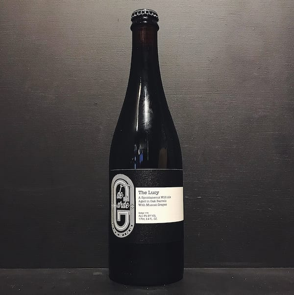 De Garde The Lucy Wild Ale Oak Aged with Muscat Grapes USA vegan