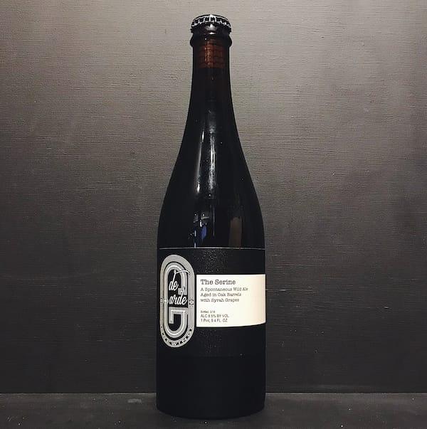 De Garde The Serine Wild Ale Oak Aged with Syrah Grapes USA vegan
