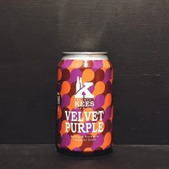 Kees North Velvet Purple Imperial Stout with Honey & Pistachio Netherlands collaboration