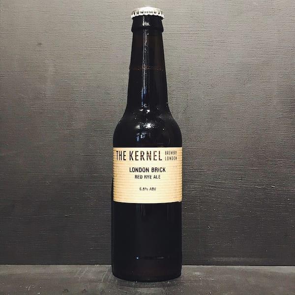 The Kernel London Brick Red Rye Ale vegan friendly